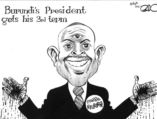 Burundi's President Gets His 3rd Term