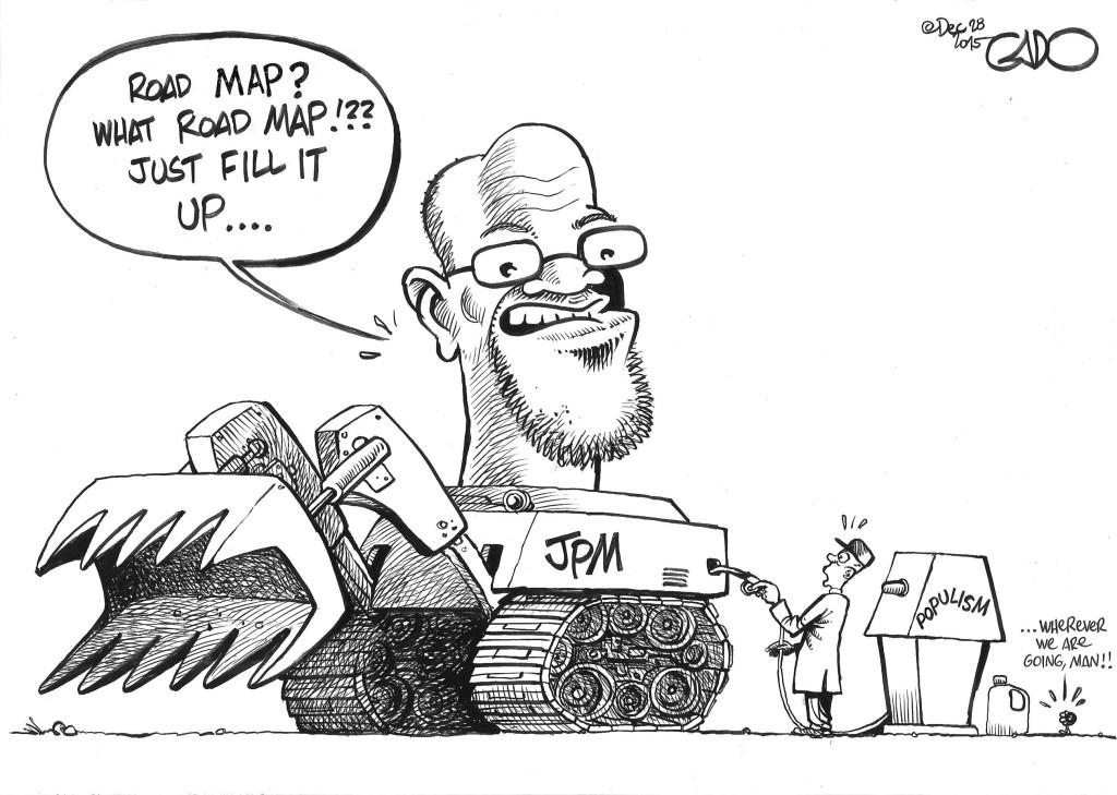 Dec 28 15 JPM-What Road Map?