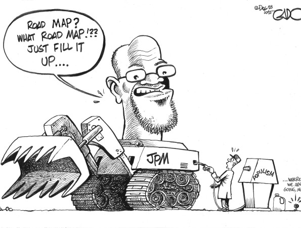 Fill it up! President Magufuli rolling