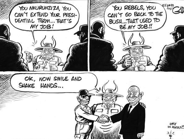 M7 and Burundi Peace Talks