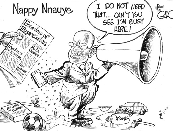 Nappy Nnauye Tanzania's Minister of Information Cultute Artists and Sports!