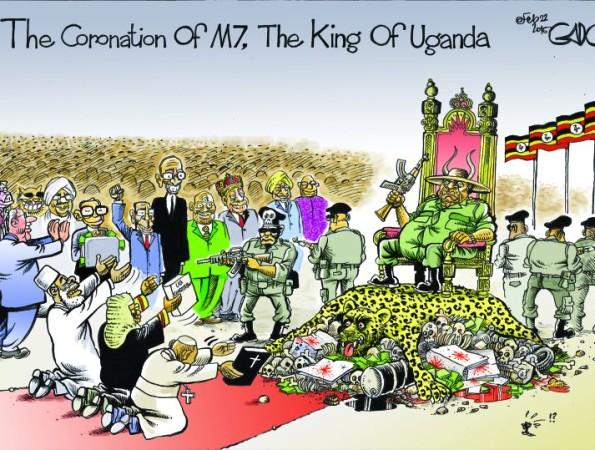 The Coronation of M7, The King Of Uganda