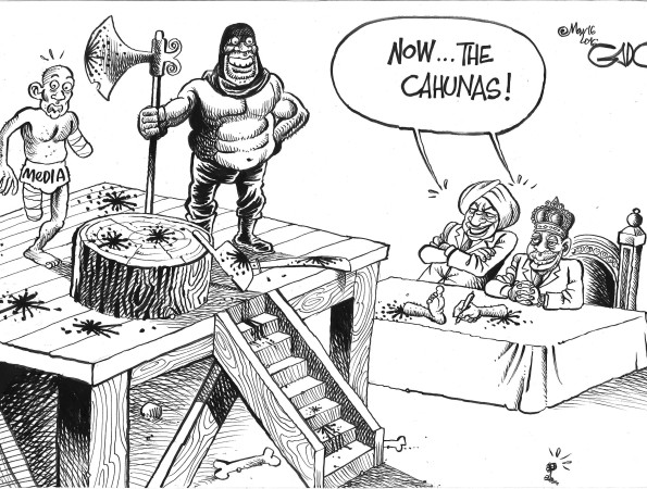 Jubilee and Free Media in Kenya Today