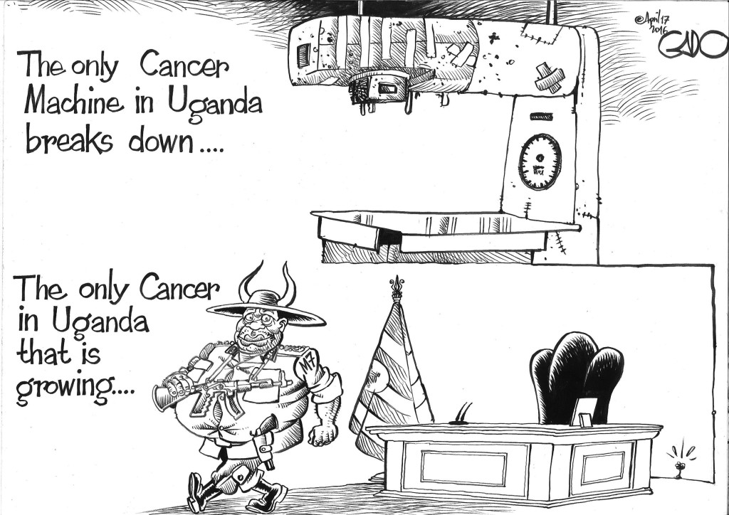 April 17 16 Cancer and Cancer Machines in Uganda