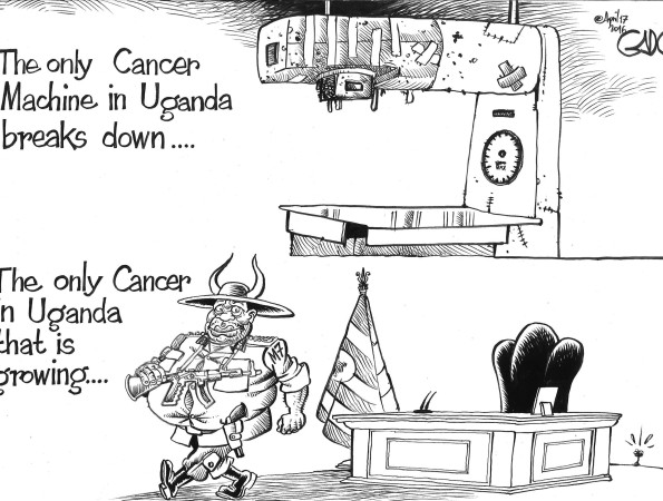 Cancer and Cancer Machines in Uganda!
