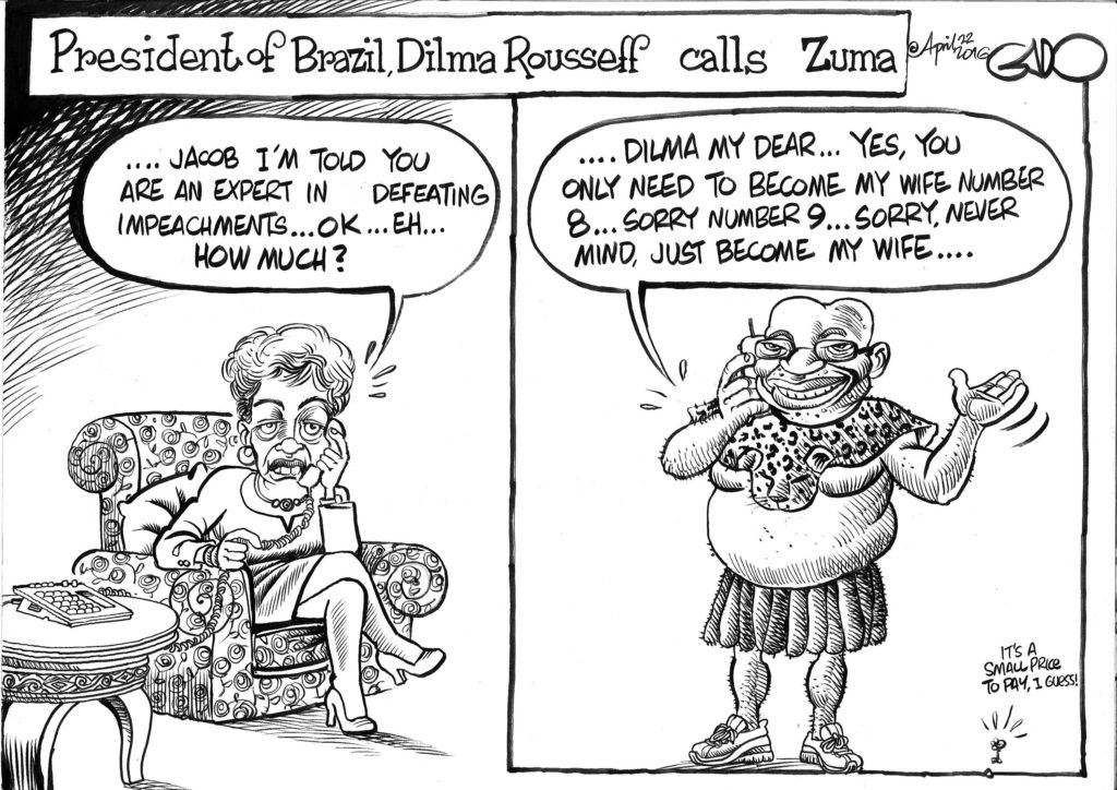 April 22 16 Dilma Rousseff call Zuma