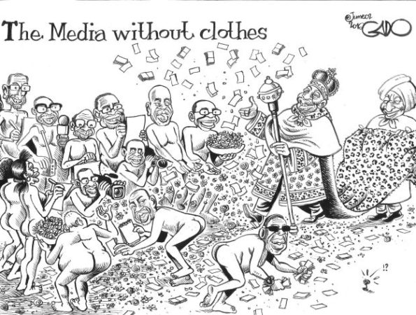 The Media Without Clothes!