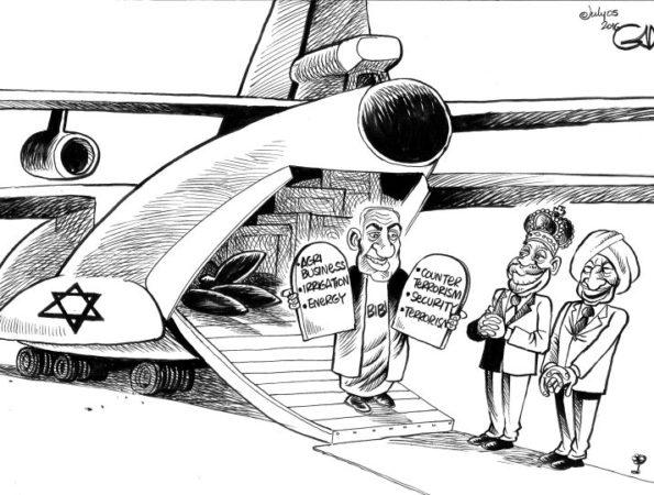 Bibi in Africa!