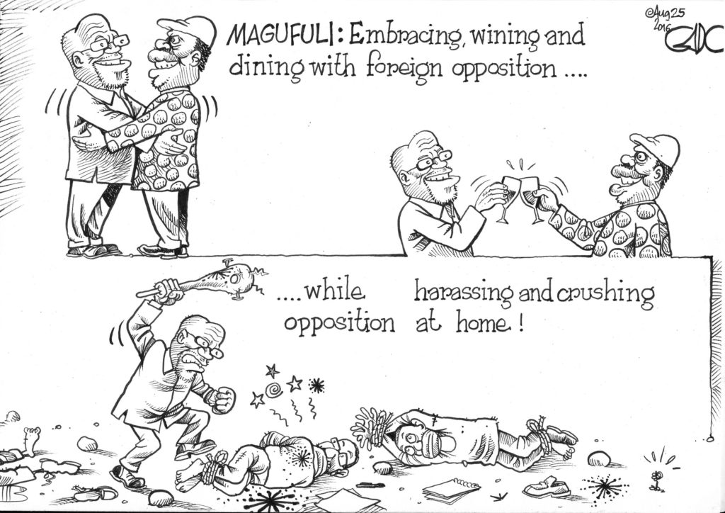 Aug 25 16 Magufuli and the Opposition