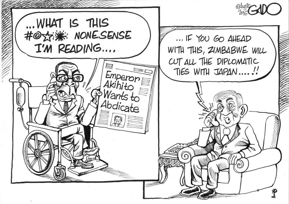 Aug.10.16.Mugabe.calls.Emperor.Akihito
