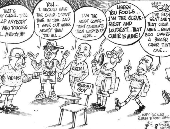 Nairobi Governor's Seat