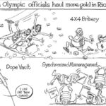 Kenya Olympic Officials haul Gold in Rio