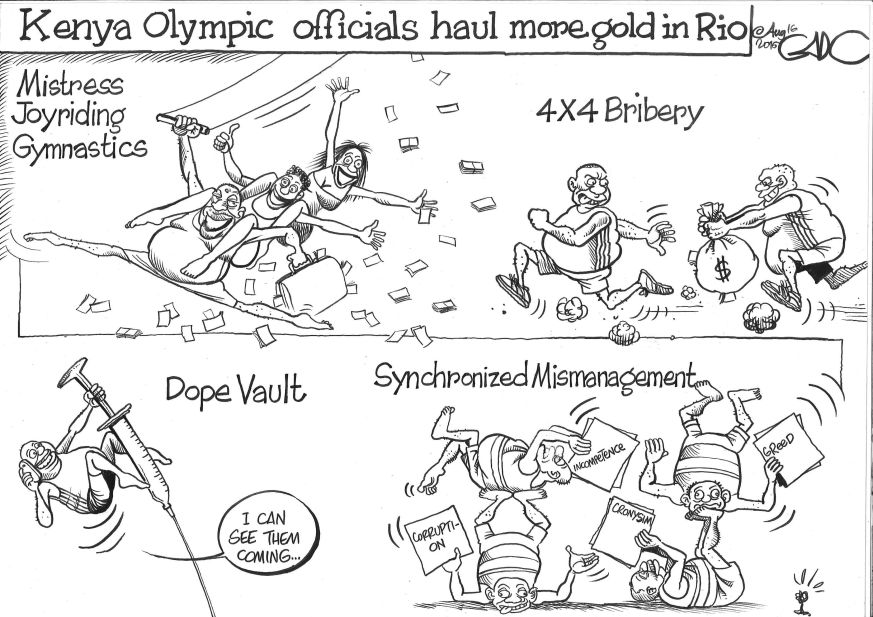 Aug.16.16.Kenya.Olympic.Officials.haul.Gold.in.Rio