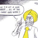 Ruto on land Grabbing