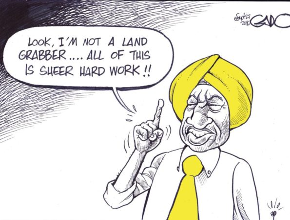 Ruto on land Grabbing