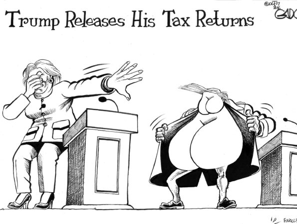 Trump releases his tax returns