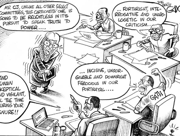 CJ Maraga facing Cartoonists' Select Committee
