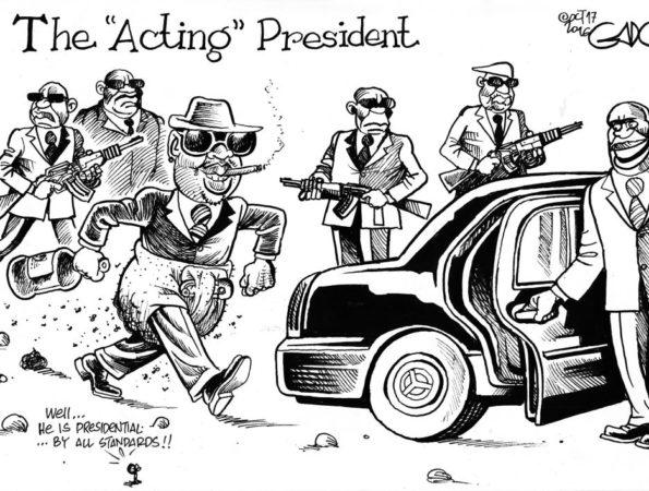 """Sonko The """"Acting"""" President"""