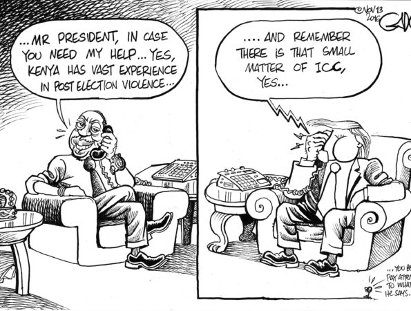 Trump calls President Uhuru (Kenya)