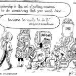 Uhuru, Ruto and Eisenhower