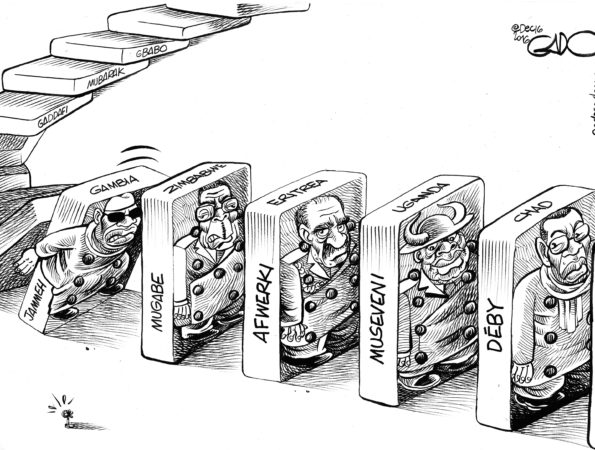 Jammeh and Co in the domino effect