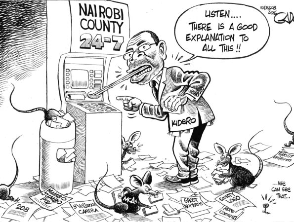 Governor Kidero and the 20B Scandal
