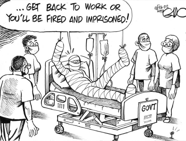 Doctors' Strike in Kenya:  Government Vs Doctors #LipaKamaTender
