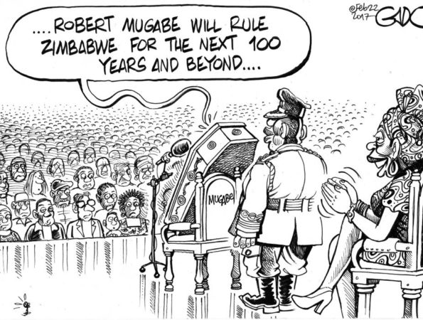 Mugabe to rule Zimbabwe for the next 100 years and beyond!