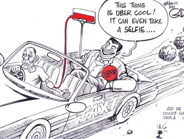 Uber and its drivers #uberkenya