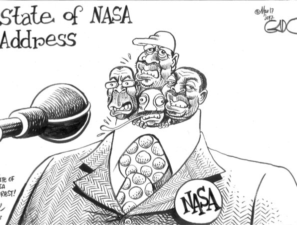 NASA state of Unrest