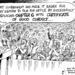 From Chapter 6 to Certificate of Good Conduct