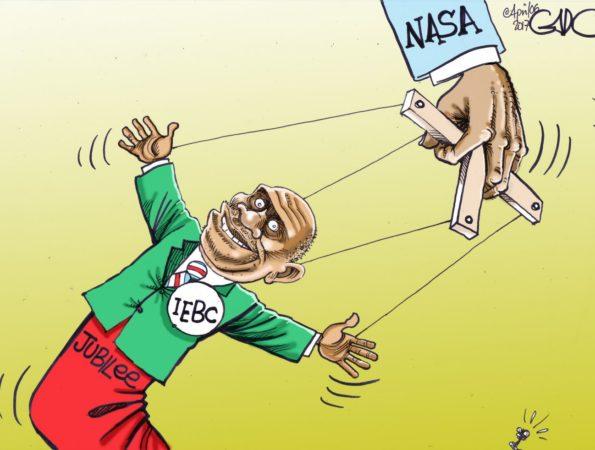 Manipulating IEBC