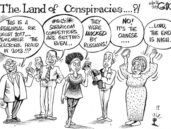 The Land of Conspiracies?!