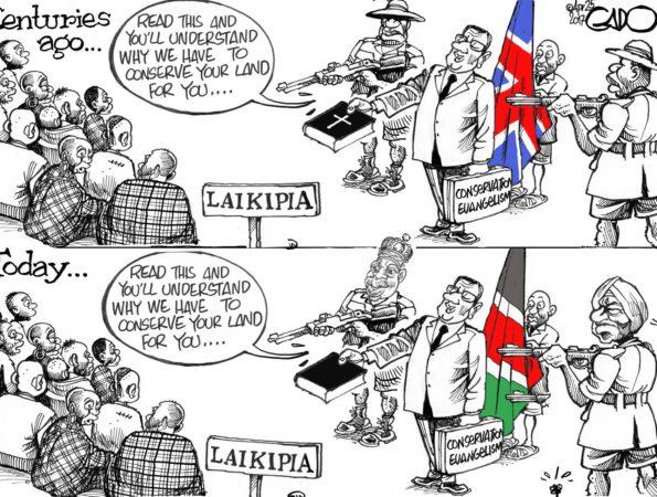 Laikipia; Centuries Ago and Today