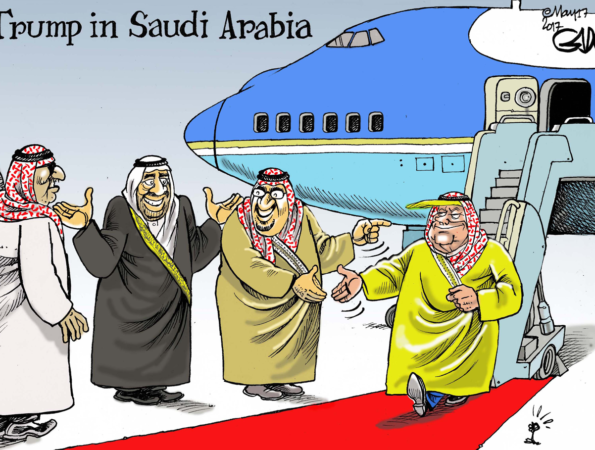 Trump in Saudi Arabia!