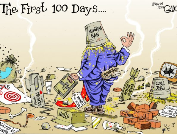 The First Hundred Days #Trump