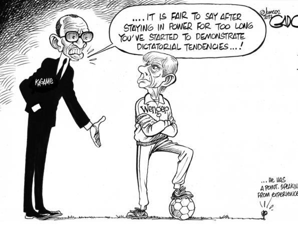 Kagame Vs Wenger