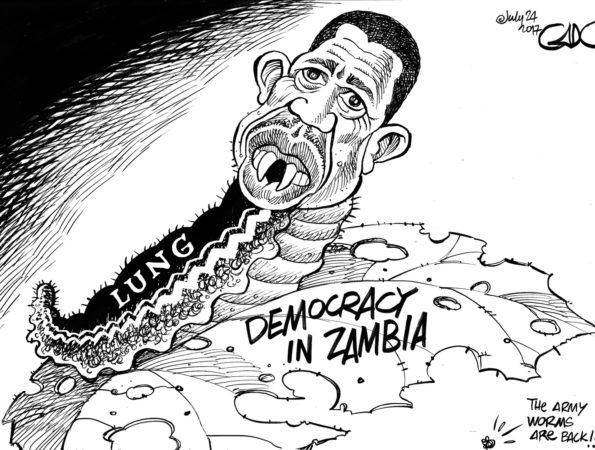 LUNGU – President of Zambia