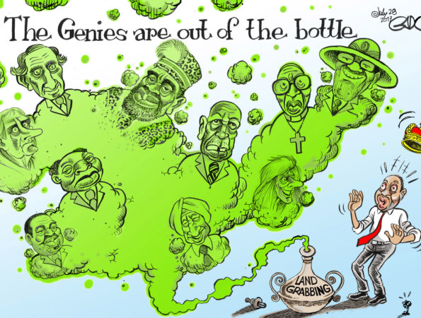 The Genies are out of the Bottle #LandGrabbing