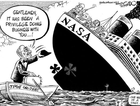Titanic 2017 #Nasa