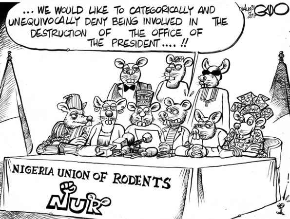 Nigeria Union of Rodents Vs President Buhari