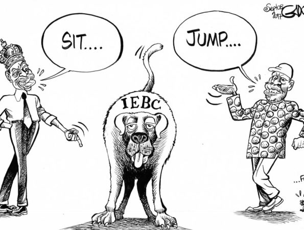 Ordering the Watchdog #IEBC