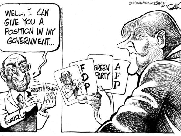 Merkel Vs Schulz