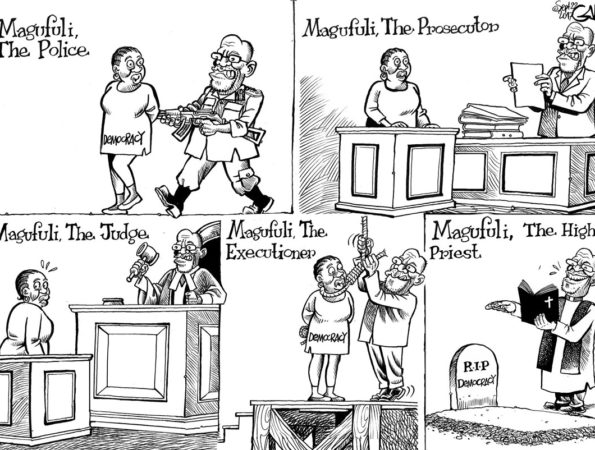 Magufuli the Police The prosecutor etc
