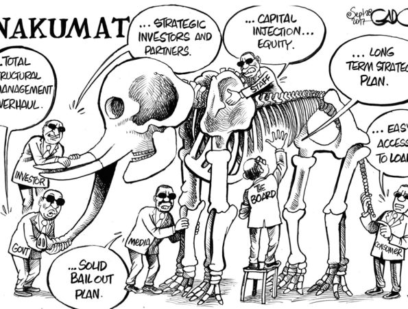 The Story of NAKUMATT and the blind men
