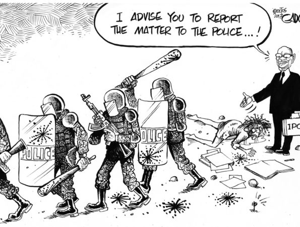 IPOA and Police Brutality