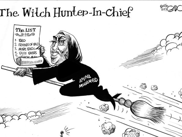 The WitchHunter-In-Chief