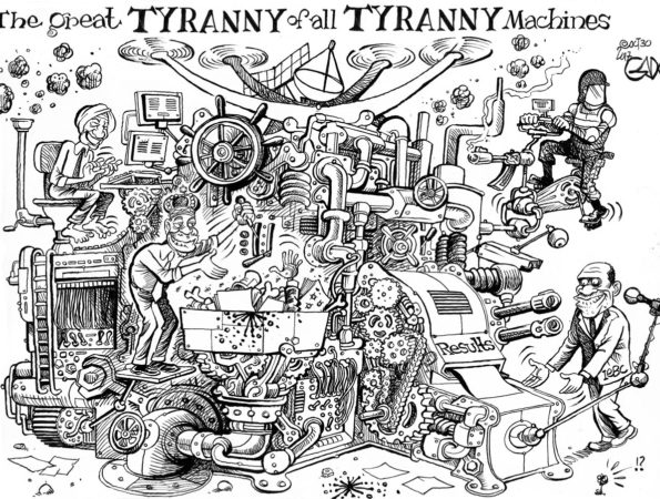 The Great Tyranny of all Tyranny Machines