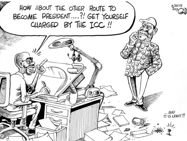 The ICC Route to Presidency