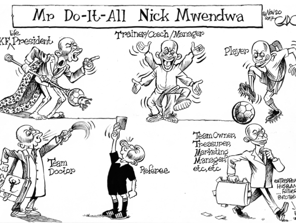 Mr Do-It-All Nick Mwandwa